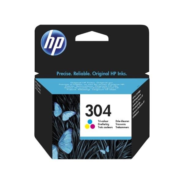 HP 304 Color 100 paginas  Tinta