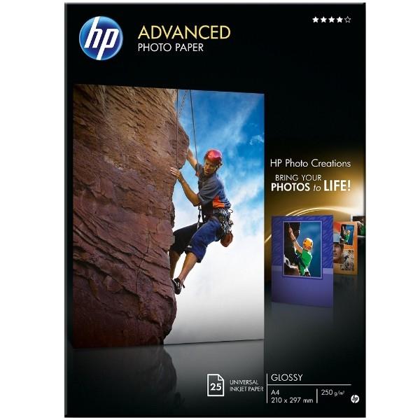 HP Papel fotogrfico Advanced Satinado Tinta A4  Papel