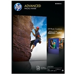 HP Papel fotográfico Advanced Satinado Tinta A4 - Papel