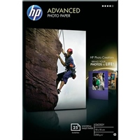 HP Advanced Glossy Photo Paper - Papel