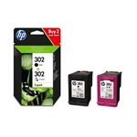 HP 302 Pack Negro + Tricolor - Tinta