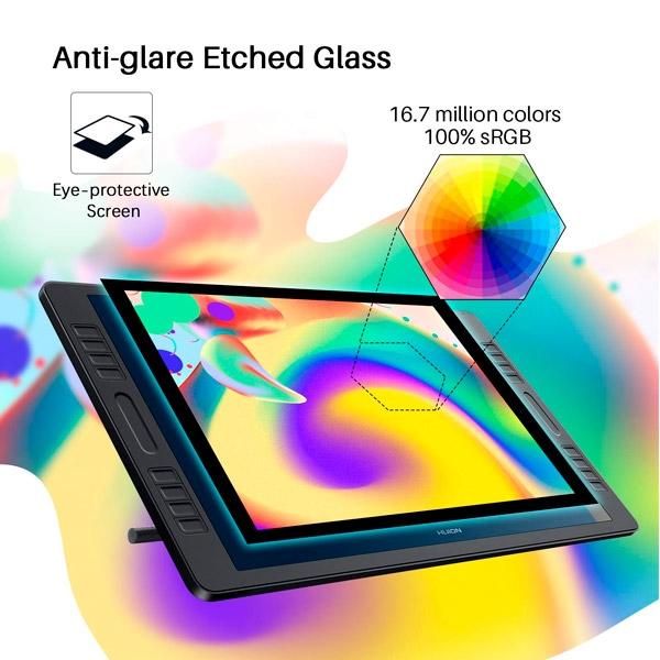 "Huion kamvas GT192 PRO 19,5"" - Tableta digitalizadora"