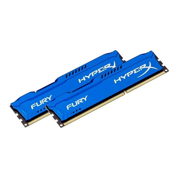 HyperX Fury DDR3 1333Mhz 8GB 2x4  Memoria RAM