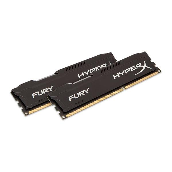 HyperX Fury DDR3 1600Mh 8GB 2x4  Memoria RAM