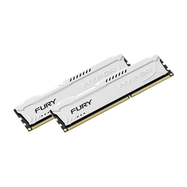 HyperX FURY White DDR3 1600MHz 16GB  Memoria RAM