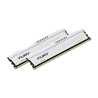 HyperX FURY White DDR3 1600MHz 8GB - Memoria RAM