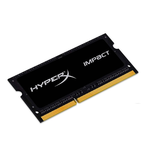HyperX Impact Black DDR3 1600Mhz 8GB SO-DIMM - Memoria RAM