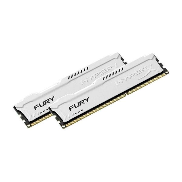 HyperX FURY White DDR3 1866MHz 16GB  Memoria RAM