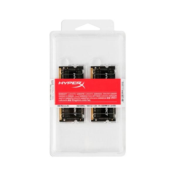 HyperX Impact DDR3 1866MHz 8GB 2x4 SODIMM  Memoria RAM