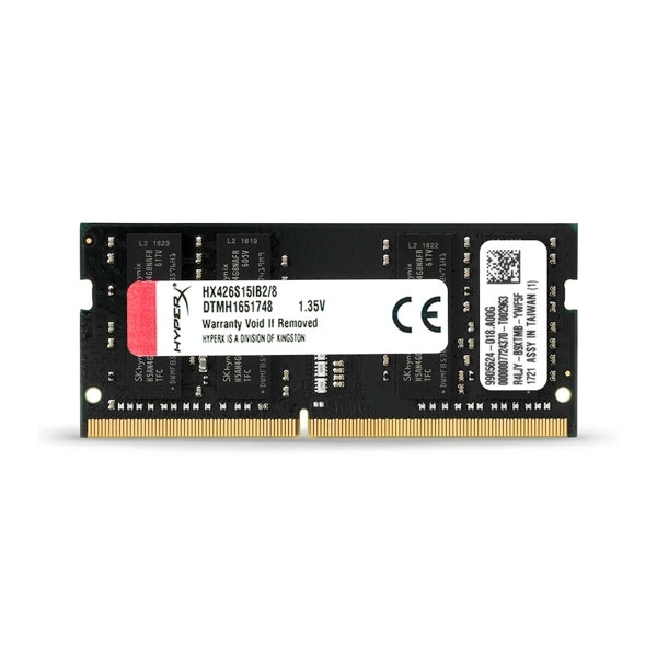 HyperX Impact DDR4 2133MH 4GB SODIMM  Memoria RAM