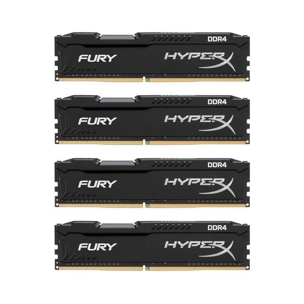 HyperX Fury DDR4 2133MHz 32GB 4x8GB  Memoria RAM