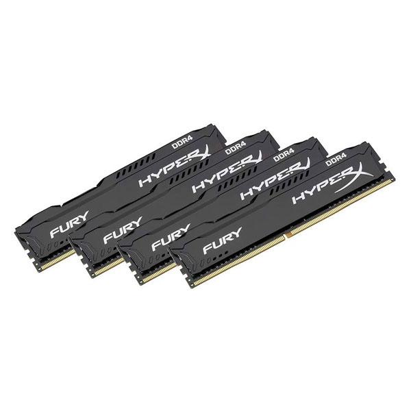 HyperX Fury DDR4 2133MHz 16GB 4x4  Memoria RAM