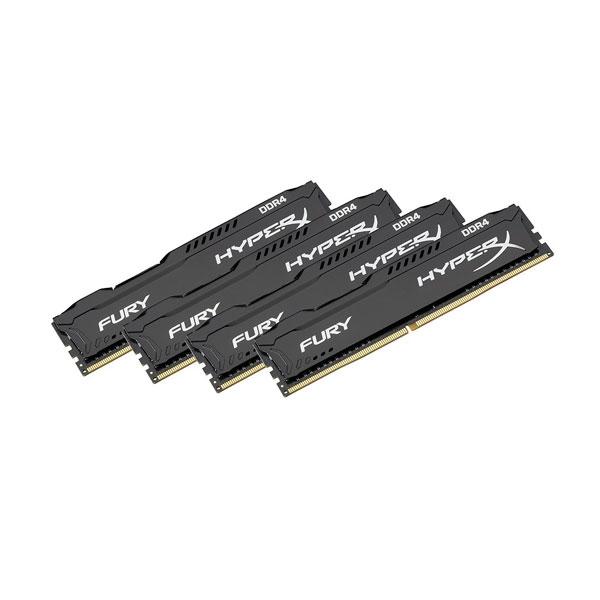 HyperX Fury DDR4 2133MHz 32GB 4x8  Memoria RAM