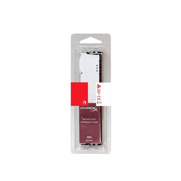 HyperX Fury DDR4 2133MHz 8GB Blanca  Memoria RAM