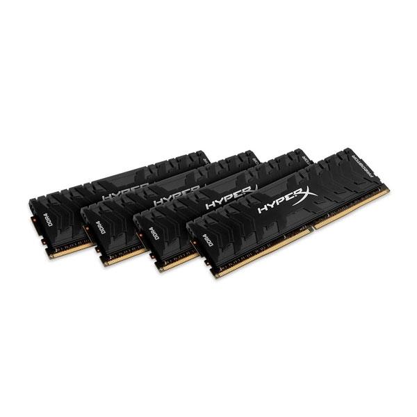 HyperX Predator DDR4 2400MHz 32GB 4x8  Memoria RAM