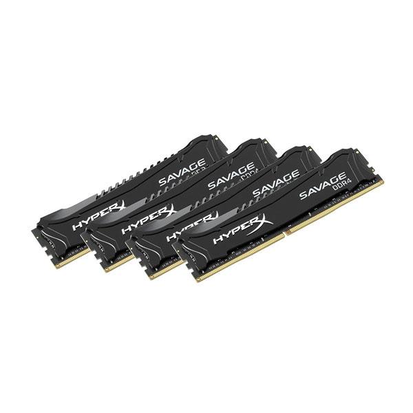 HyperX Savage DDR4 2400MHz 32GB 4x8  Memoria RAM