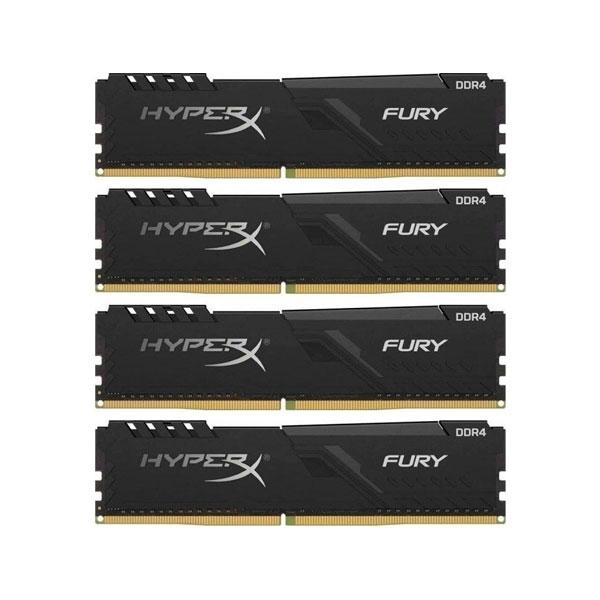 HyperX Fury DDR4 2400MHz 32GB 4x8  Memoria RAM
