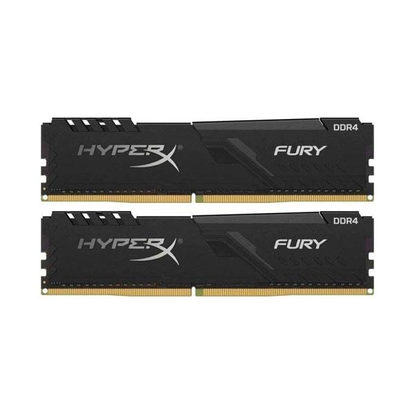 HyperX Fury Black DDR4 2400MHz 16GB 2x8 CL15  Memoria RAM