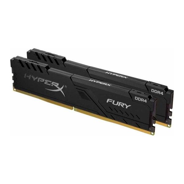 HyperX Fury Black DDR4 2400MHz 32GB 4x8 CL15  Memoria RAM