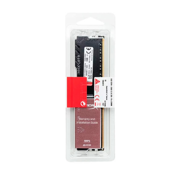 HyperX Fury Black DDR4 2400MHz 8GB CL15 - Memoria RAM
