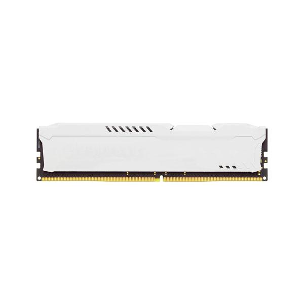 HyperX Fury DDR4 2400MHz 16GB blanca  Memoria RAM