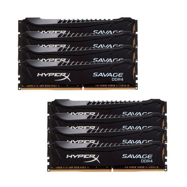 HyperX Savage DDR4 2666MHx 128GB 8x16 XMP  Memoria RAM