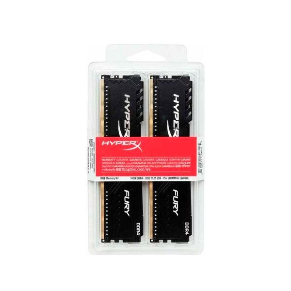 HyperX Fury Black DDR4 2666MHz 32GB 2x16 CL16  RAM