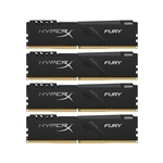 HyperX Fury Black DDR4 2666MHz 32GB (4x8) CL16 - Memoria RAM