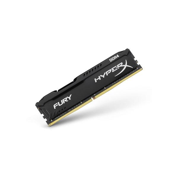 HyperX Fury DDR4 2666Mhz 16GB Negra CL16  Memoria RAM