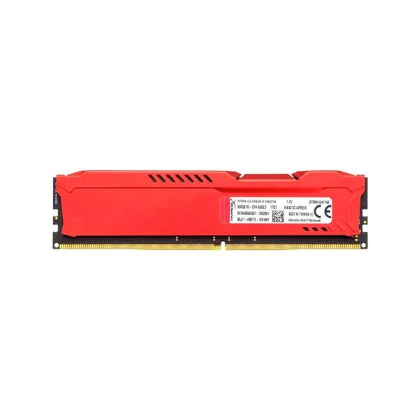 HyperX Fury DDR4 2666Mhz 8GB Roja  Memoria RAM