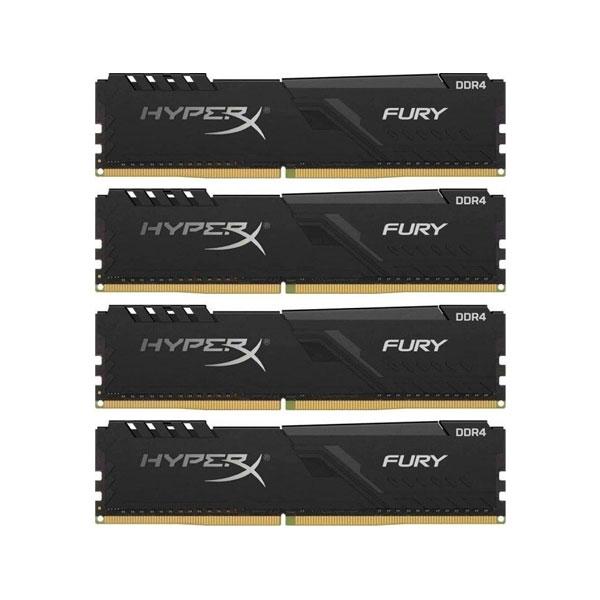 HyperX Fury Black DDR4 3000MHz 32GB 4x8 CL15  Memoria RAM