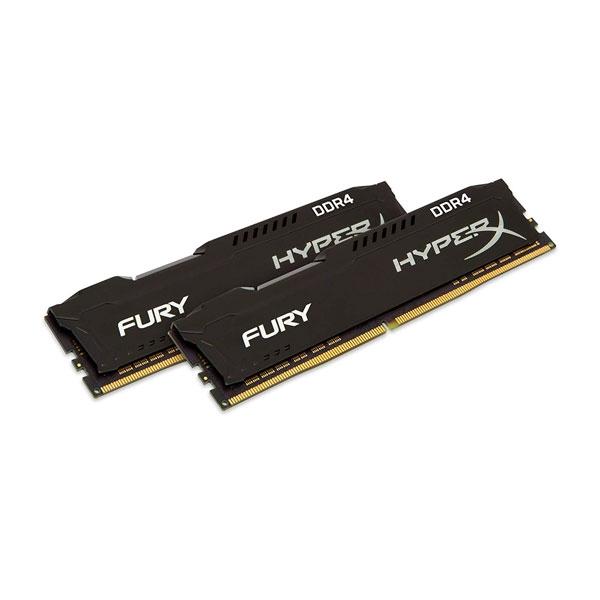 HyperX Fury Black DDR4 3200MH 32GB 2x16 CL18  Memoria RAM