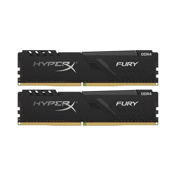 HyperX Fury Black DDR4 3466MHz CL19 16GB 2x8  Memoria RAM