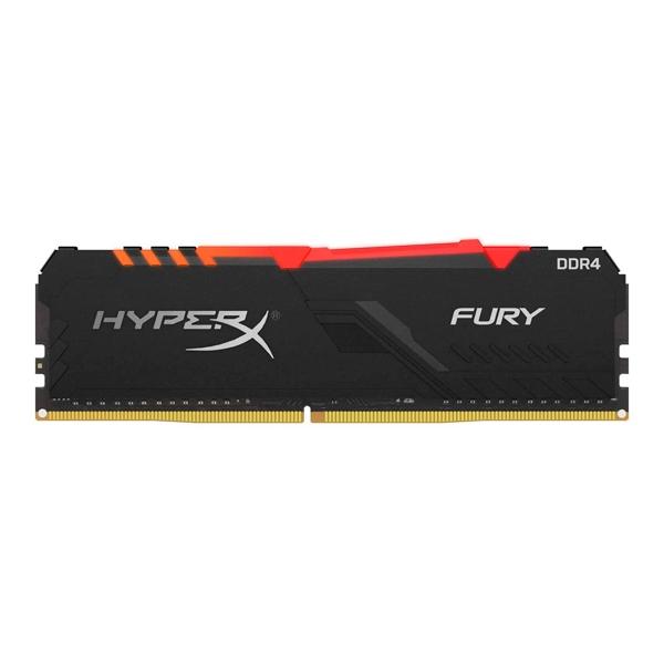 HyperX Fury RGB DDR4 3600MHz 16GB CL17  Memoria RAM