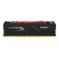 HyperX Fury RGB DDR4 3600MHz 8GB CL16  Memoria RAM