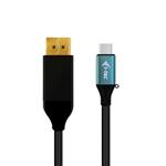 I-Tec USB-C a DisplayPort 1,50m 4K - Cable