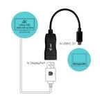 I-Tec USB-C Display Port 4K a 60Hz - Adaptador