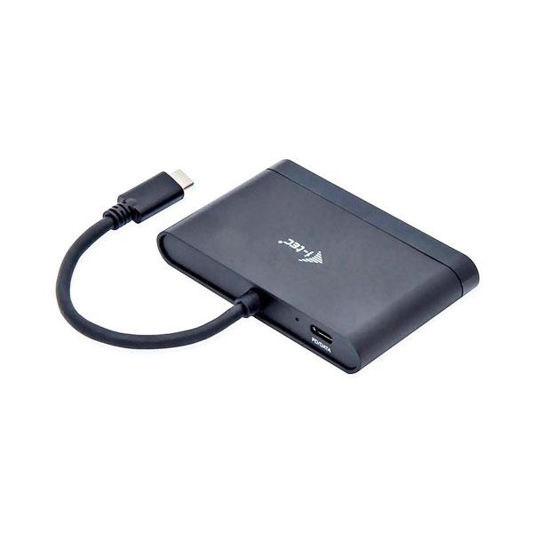 I-Tec USB C a HDMI con 2 USB 3.0
