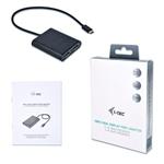 I-Tec USB-C a 2 x Display Port 4K - Adaptador