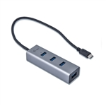 I-Tec USB-C metal 4 USB 3.0 - Hub USB