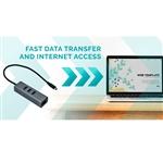 I-Tec USB-C metal a 3 USB 3.0 + GBLAN - Dock