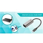 I-Tec USB-C a GBLAN metal - Adaptador