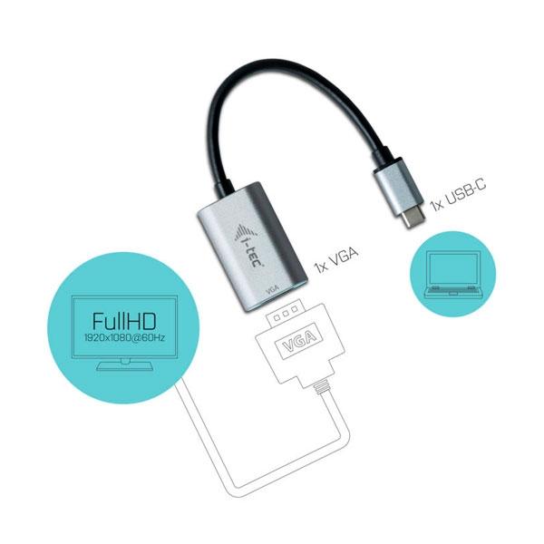 ITec USBC a VGA  Adaptador
