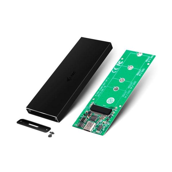 I-Tec Mysafe USB-C a M.2 SATA - Caja M.2