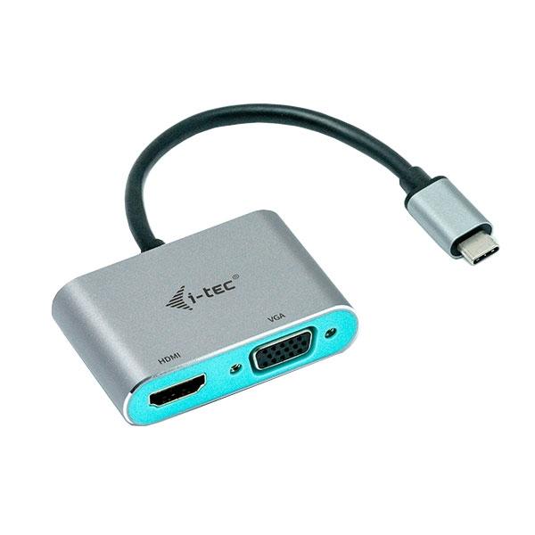 I-Tec USB-C a HDMI VGA - Adaptador