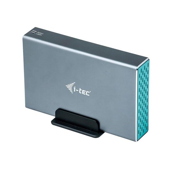 """I-Tec USB-C a 2 x 2.5"""" Raid - Caja HDD"""