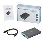 I-Tec Mysafe USB-C a 2X M.2 SATA RAID - Cararcasa M.2