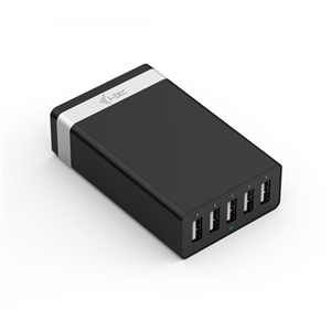 ITec USB Smart Charger 5 Puertos 40W8A  Cargador de Pared