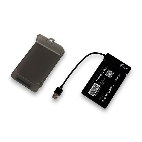 "I-Tec MySafe USB 3.0 Easy 2.5"" negro - Caja HDD"
