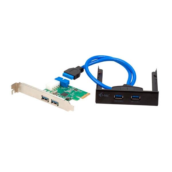 ITec PCE22U3EXT PCIE 2x USB 20 2x USB 30  Adaptador